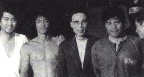 邵逸夫与李小龙(资料图)