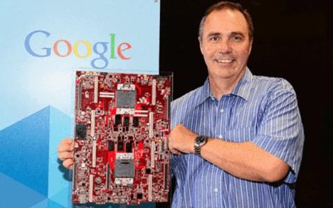 谷歌展示power8服务器主板